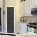 Painted Pantry Door | www.decorchick.com