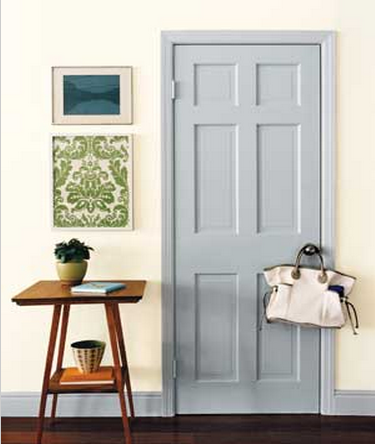 Grey Painted Door
