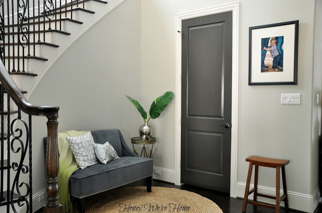Dark Grey Door