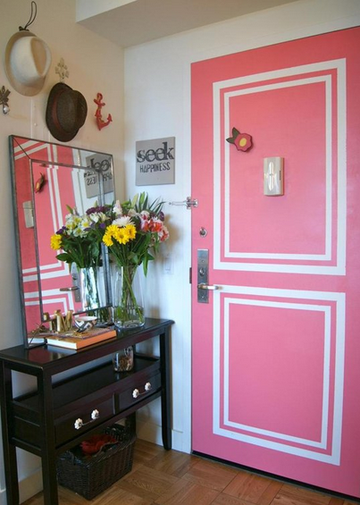Pink Painted Door