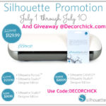 Silhouette Portrait Giveaway with Designer Edition and Special Discount