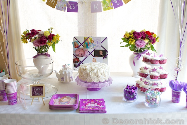 Sofia the First Party | www.decorchick.com
