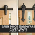 Barn Door Hardware Giveaway | www.decorchick.com