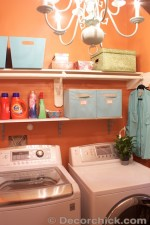 Laundry Room | www.decorchick.com