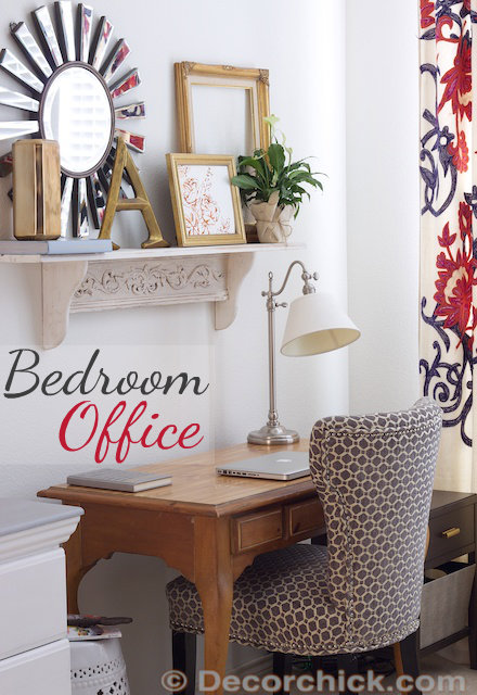 Enjoyable Office In The Bedroom Decorchick Largest Home Design Picture Inspirations Pitcheantrous