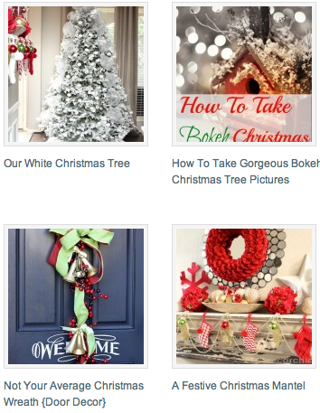 Christmas Project Gallery | www.decorchick.com
