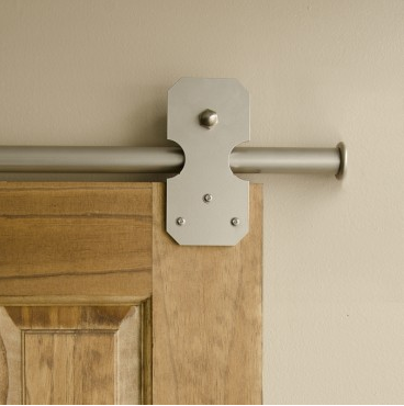 Satin Nickel Door Hardware | www.decorchick.com