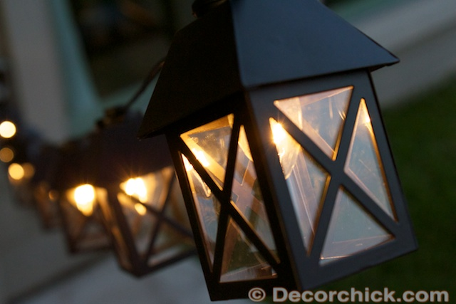 Lantern String Lights | www.decorchick.com