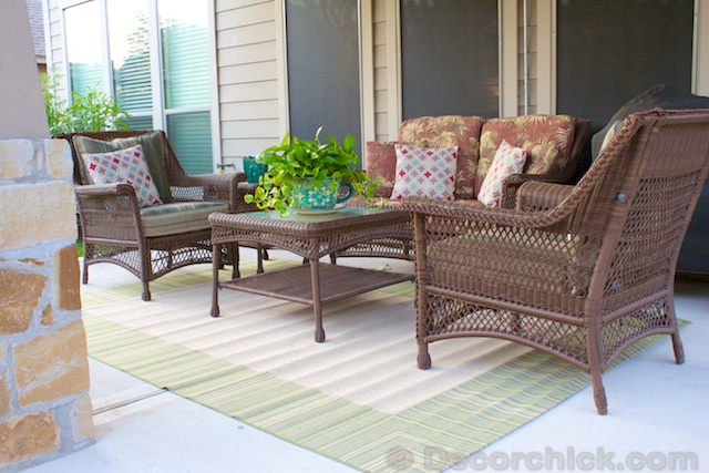 Outdoor Patio | www.decorchick.com