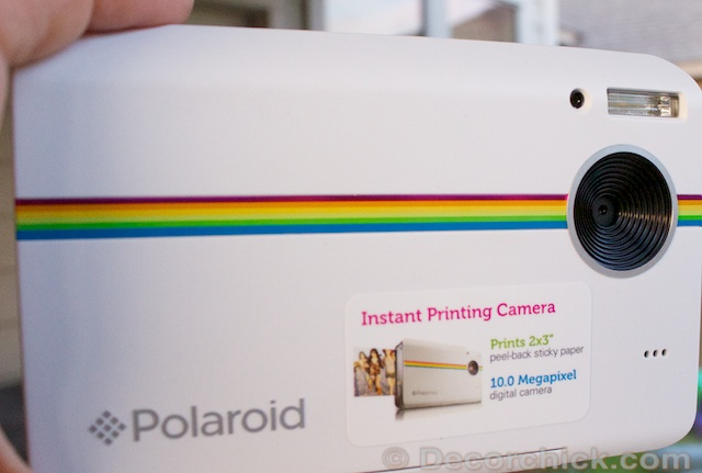 Polaroid Instant Print Camera - Prints pictures immediately!   www.decorchick.com