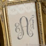 DIY Monogram Stamp