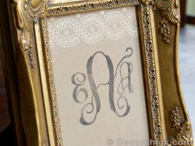 DIY Stamp | www.decorchick.com