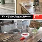 Kitchen Countertop Makeover Giveaway with Formica | www.decorchick.com