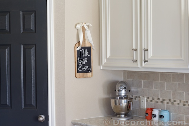 Kitchen Chalkboard | www.decorchick.com