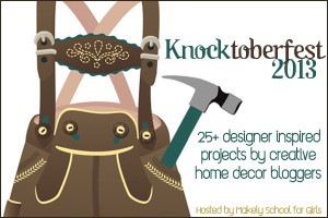 Knocktoberfest Blog Projects | www.decorchick.com