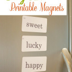 Easy DIY Printable Magnets