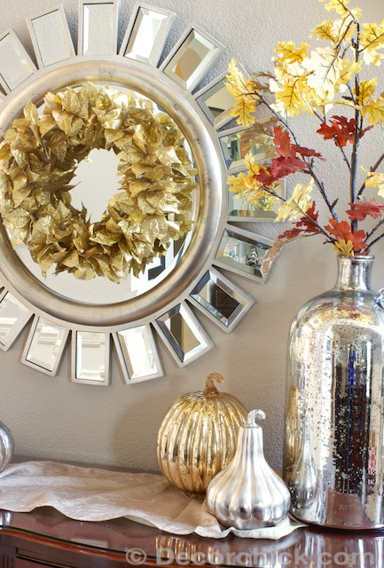 Fall Wreath Decor | www.decorchick.com