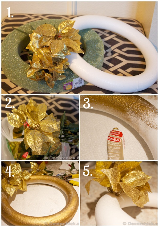 How To Make a Wreath Tutorial | www.decorchick.com