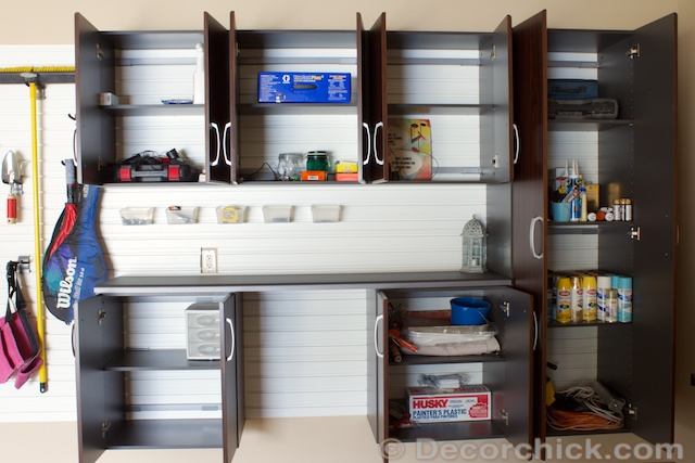How To Organize Garage | www.decorchick.com