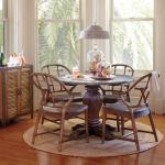 World Market Cooper Table with Metal Top | www.decorchick.com