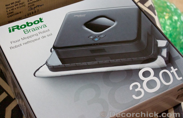 iRobot Braava Review | www.decorchick.com