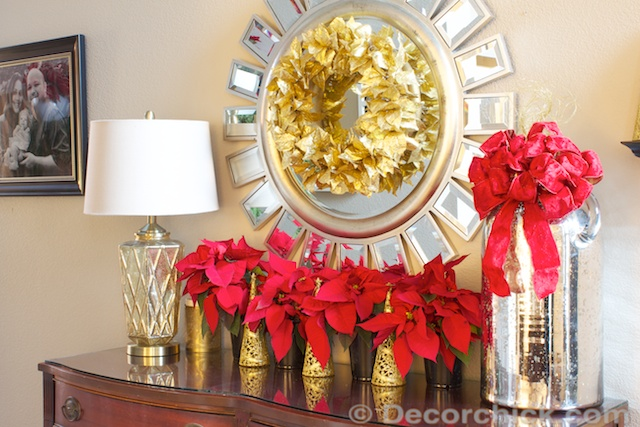 Christmas Entry Table | www.decorchick.com