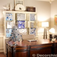 Christmas Office | www.decorchick.com
