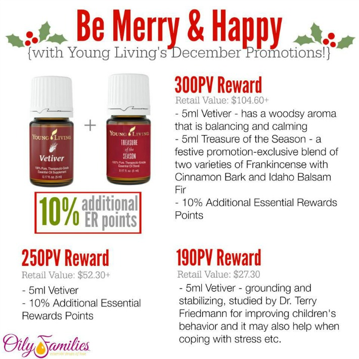 December Freebies at Young Living | Decorchick!®