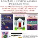 Enjoy these 5 wonderful resources and products FREE! When you order your premium starter kit. Only on Decorchick.com