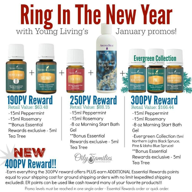 January Promotion from Young Living | Decorchick!®