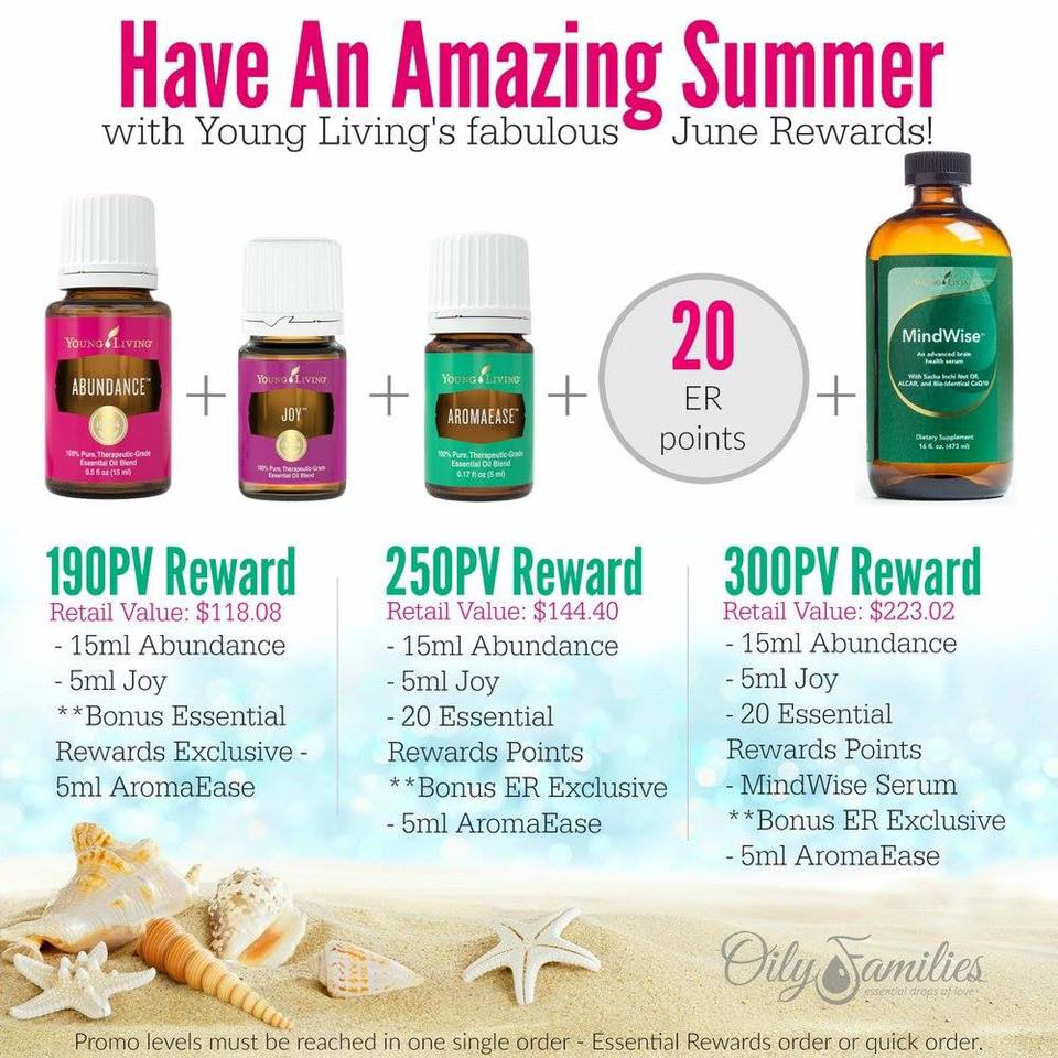 June Promotion from Young Living | Decorchick!®