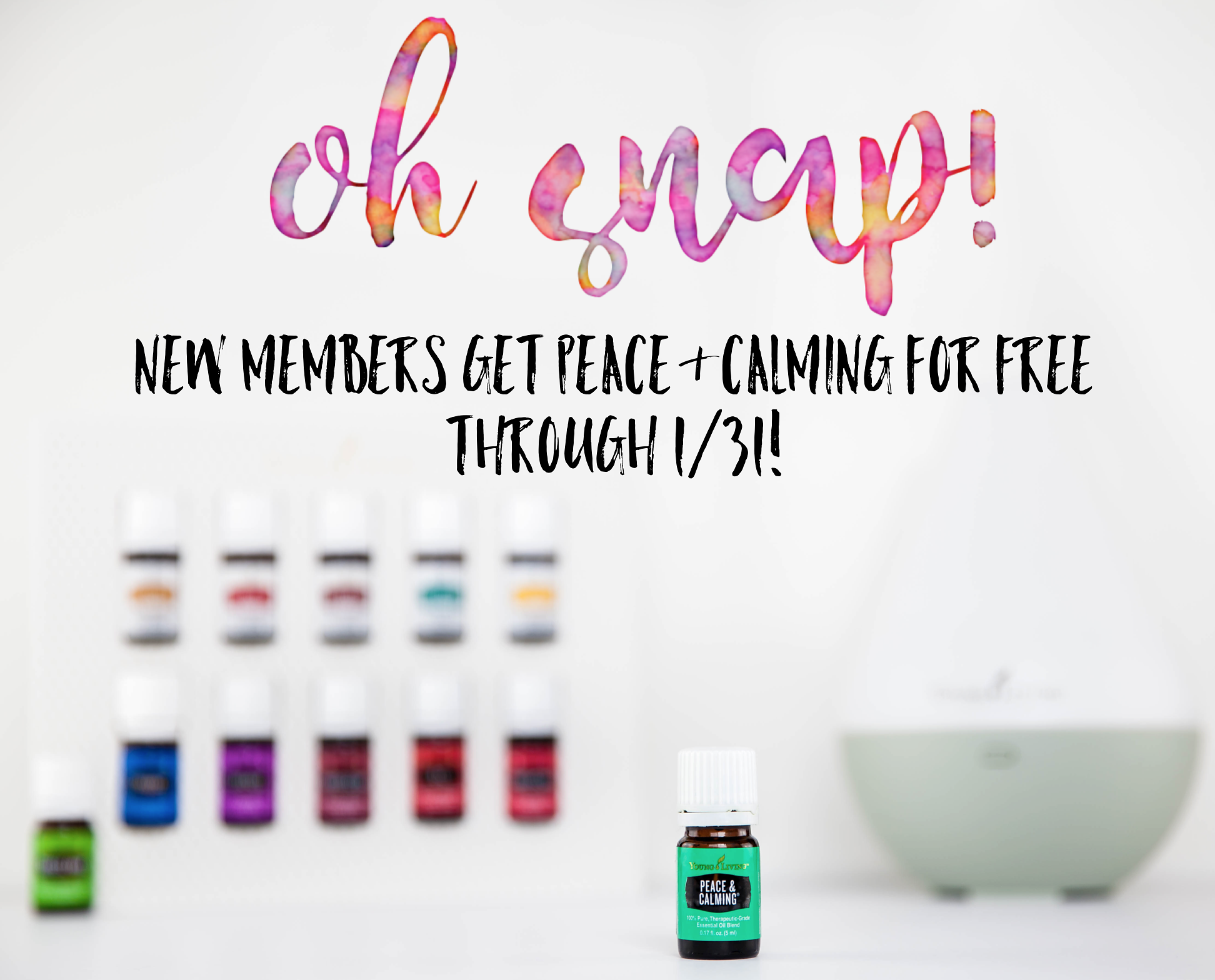 Free Peace & Calming with your New Premium Starter Kit! | Decorchick!®