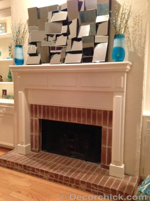 Mantel-Before