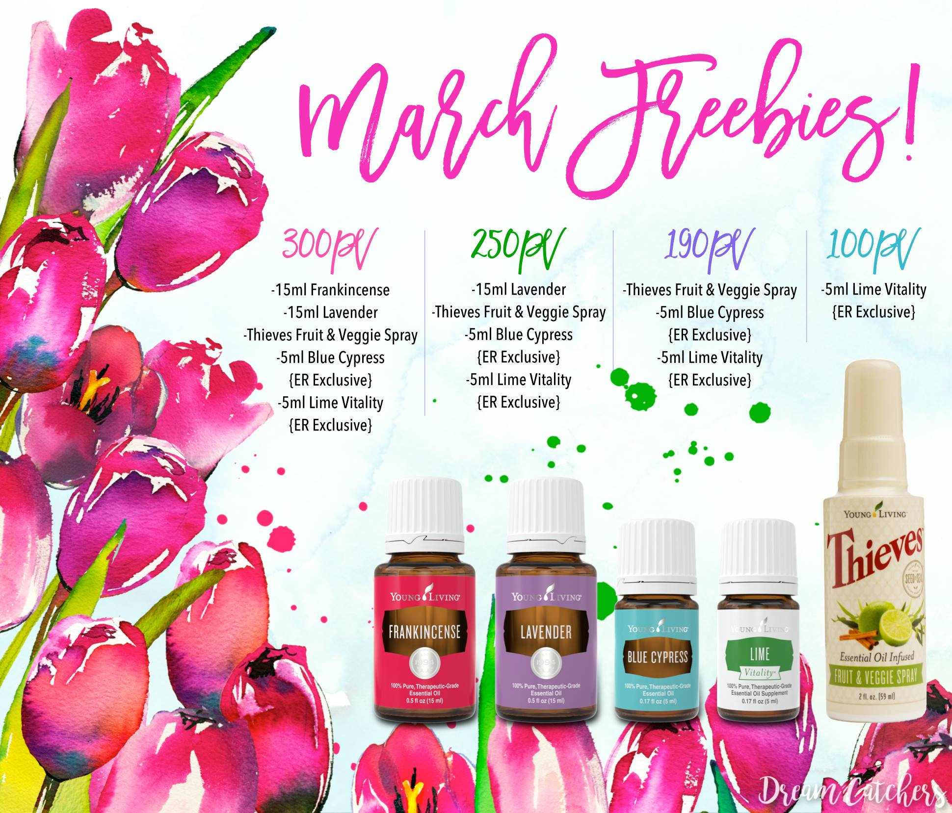 March Promotion from Young Living | Decorchick!®