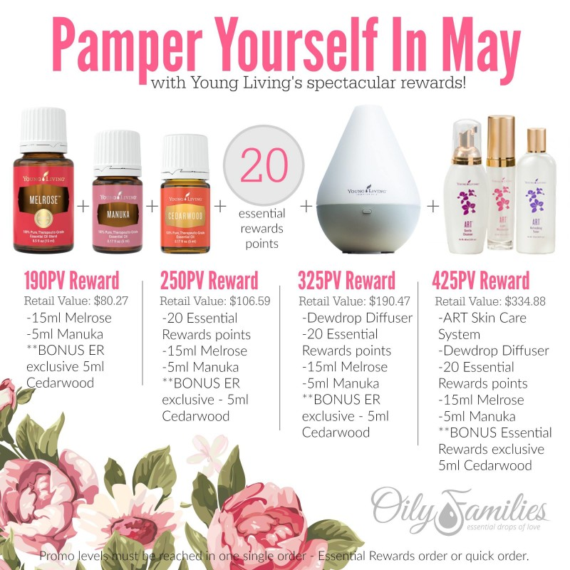May Promotion from Young Living | Decorchick!®