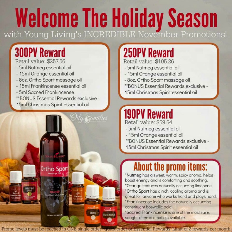 November Promotion from Young Living | Decorchick!®