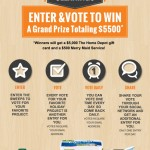 $200 Home Depot Giveaway and $5,000 Sweepstakes!!