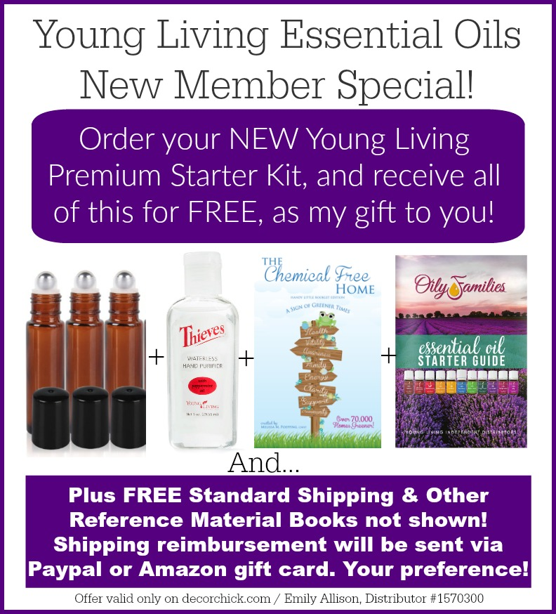 Young Living New Member Special Promotion, only on Decorchick.com | Decorchick!®