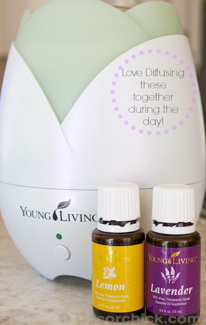 Lavender and Lemon Essential Oil | www.decorchick.com