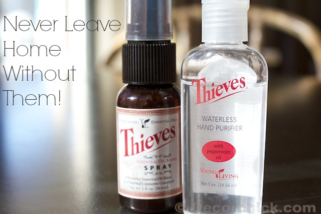 Thieves Spray Sanitizer | www.decorchick.com