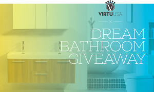 Dream Bathroom Giveaway from VirtuUSA | www.decorchick.com