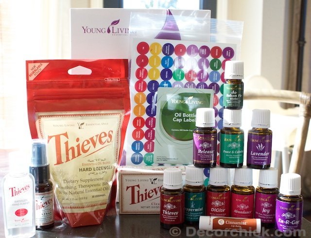 Young Living Essential Rewards Order | www.decorchick.com