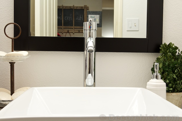 Chrome Faucet | www.decorchick.com