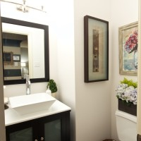 Powder Room Remodel | www.decorchick.com