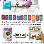 AMAZING Young Living Premium Starter Kit offer with FREE Reference Guide, a 10 dollar credit, and Set of Oil Bottle Caps when you join through distributor #1570300 | www.decorchick.com