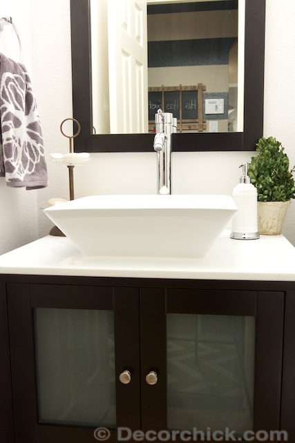 Vessel Sink Vanity | www.decorchick.com