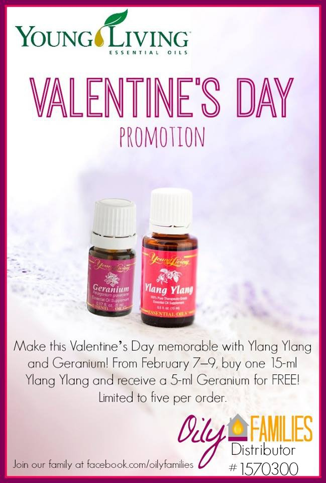 Young Living Valentine Promotion | www.decorchick.com