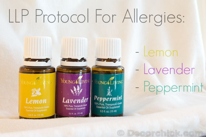 Essential Oils for Allergies | www.decorchick.com