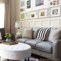 Grey Leather Sofa | www.decorchick.com