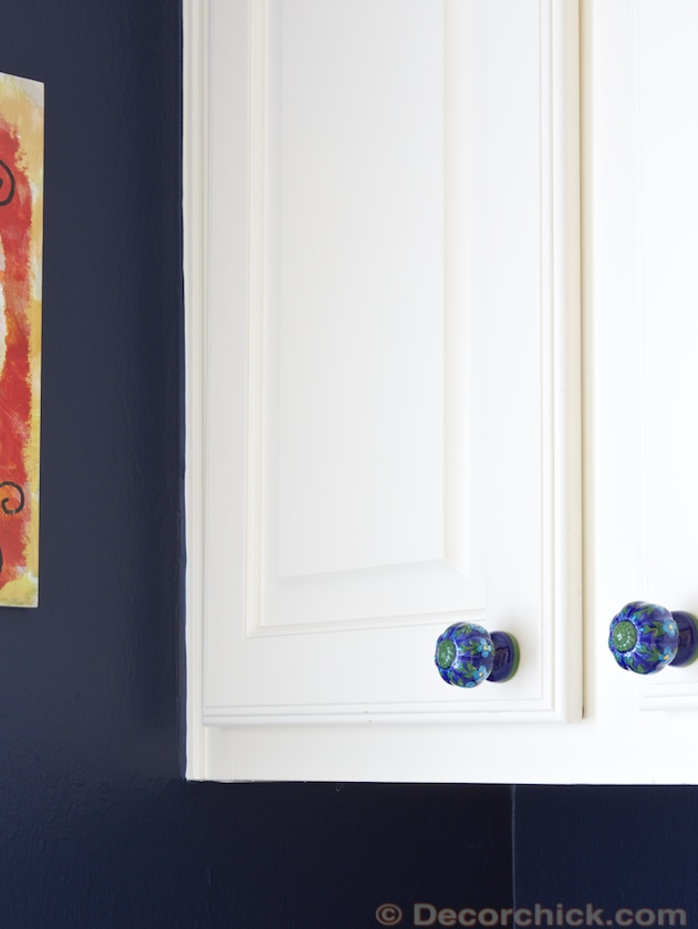 Painted Knobs | www.decorchick.com